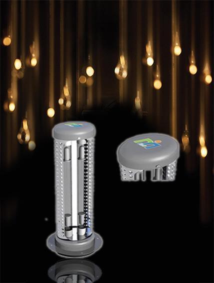 管道静电式空气净化器由什么组成?